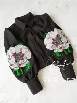 """Вишита блузка """"Дивовижна Квітка"""""""